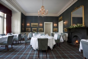 The dining room at The Roxburghe